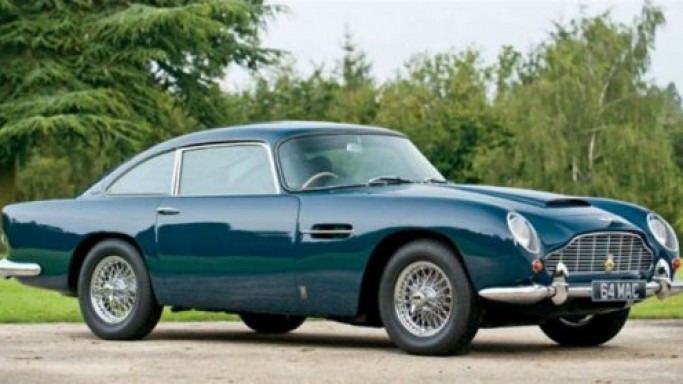 Sir Paul McCartney's 1964 Aston Martin DB5 is up for grabs