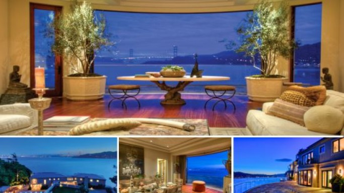 "San Francisco Bay Area's finest home ""Villa Belvedere"" goes on a private auction at $45 million"