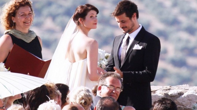 Gemma Arterton and Stefano Catelli