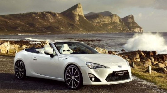 Toyota FT-86 Open Convertible Concept to debut at Geneva Motor Show 2013