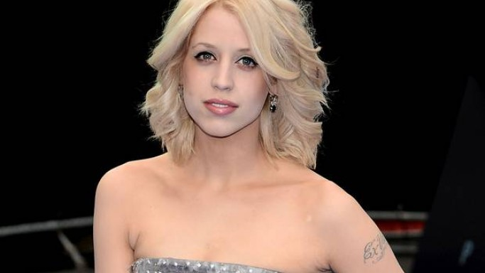 Peaches GeldOf supports Cancer Research UK