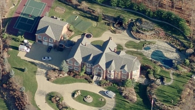 photo: house/residence of cool fun charming  700 million earning New Jersey-resident