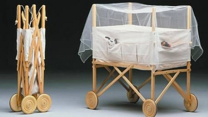 Eco-Friendly Foldable Crib For Your Baby!