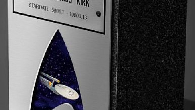 The new range of Star Trek cremation urns to honor the die-hard Star Trek fans