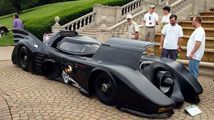 World's only turbine powered Batmobile to make crime fighting a lot more fun