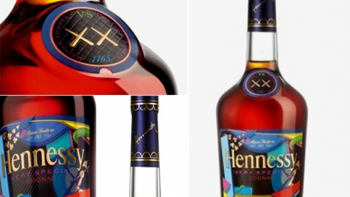 KAWS joins Hennessy for V.S. Cognac limited edition bottle