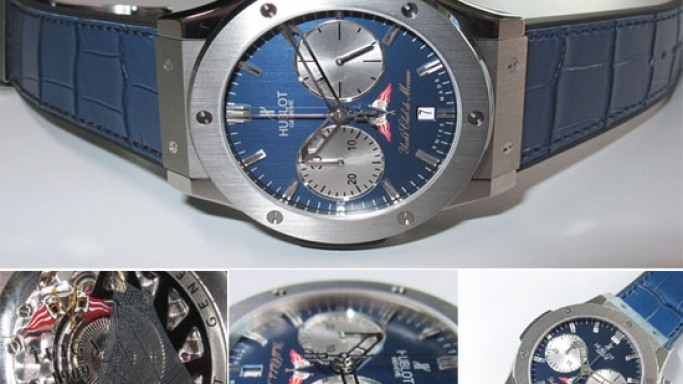 Hublot presents the Classic Fusion Chronograph Yacht Club de Monaco