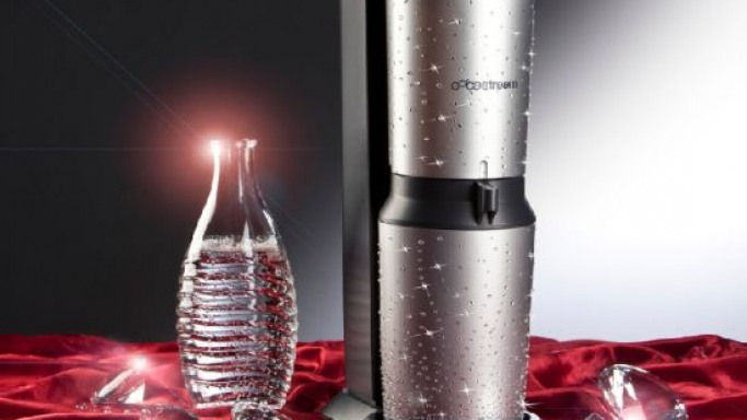 Sodastream's Swarovski encrusted drinks maker is for the luxury kitchen
