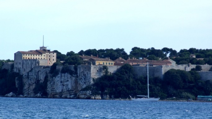 The island of Sainte  Marguirette