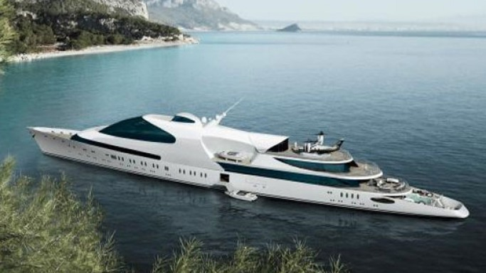 """ADM Shipyards launches 141-meter """"Yas"""" superyacht to compete with the world's largest yachts"""