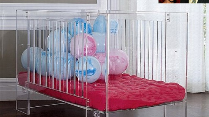 Beyonce and Jay Z splurge $3,500 on a Lucite crib for baby Blue Ivy Carter
