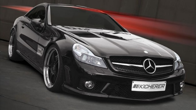 SL63 car - Color: Black  // Description: appealing