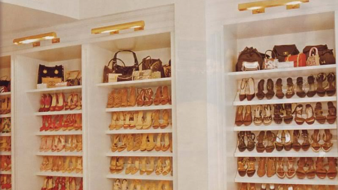 Footwear and bags collection