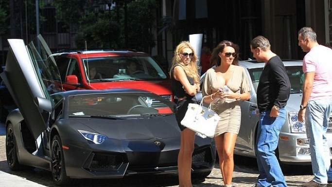 Petra Ecclestone along with her sister