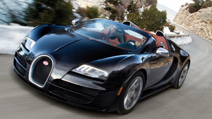 Bugatti presents most powerful roadster 'Veyron 16.4 Grand Sport Vitesse' at Geneva Motor Show