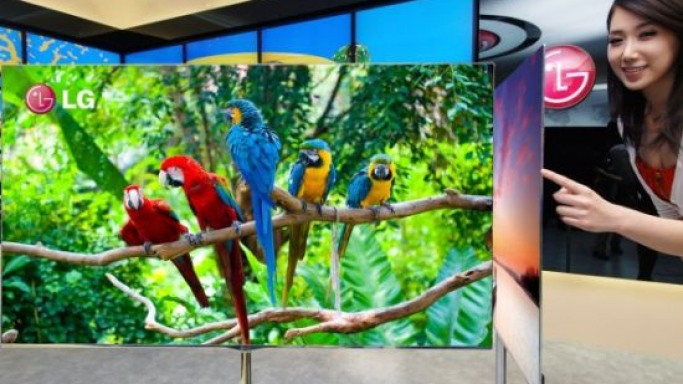 LG's 55-inch OLED TV to sell at $8,000