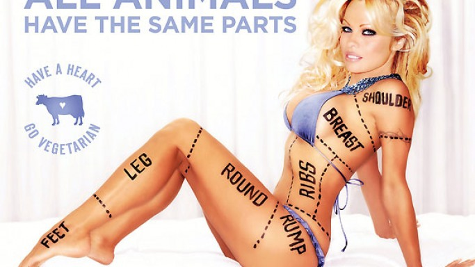 Pamela Anderson has used her hotness quotient by featuring in various PETA advertisements