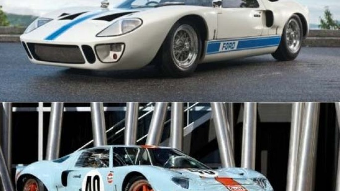 Two Rare Ford GT40 racing cars for sale at RM's Monterey Auction