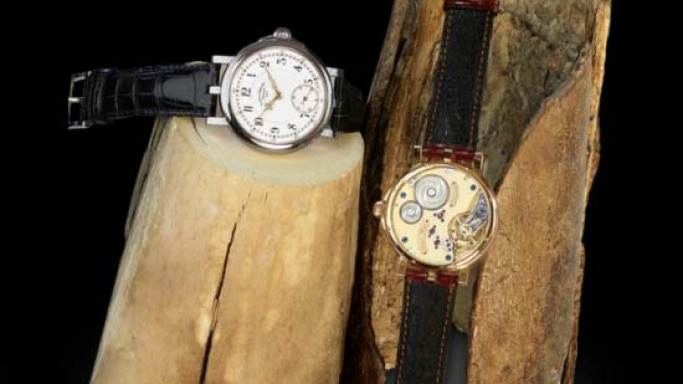 "Lang & Heyne's ""Caliber I"" limited ediiton Mammoth Ivory watches"