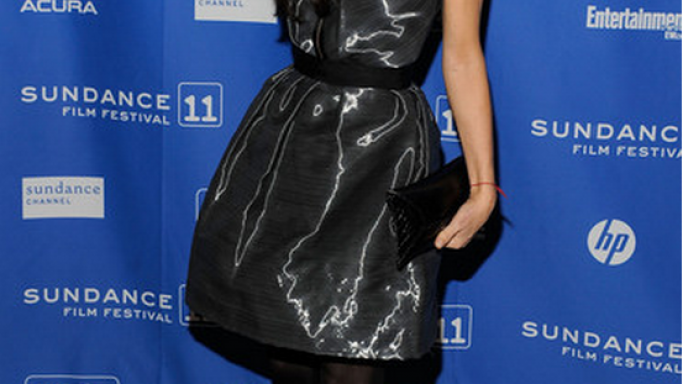 Demi Moore spotted a cool Cartier diamond ring while attending the 2011 Sundance Film festival.