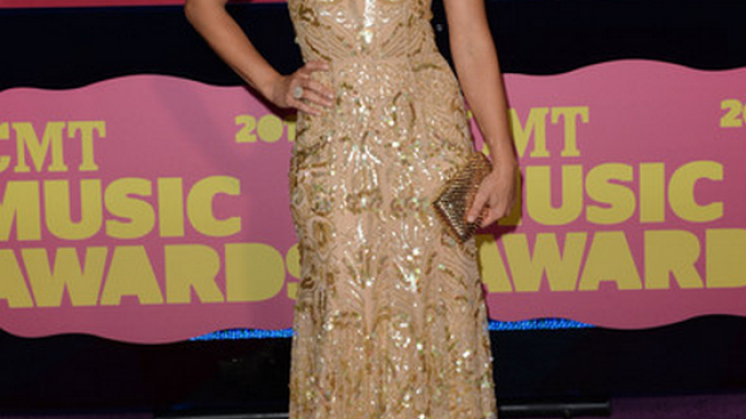 The actress carried this high-end clutch to the 2012 CMT Music Awards.