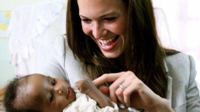 Mandy Moore is one of the celebrity ambassadors for the Population Service International.