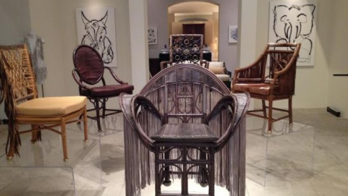 Custom made leather chairs from Mcquire is haute couture for home – Price goes upwards of $7,000