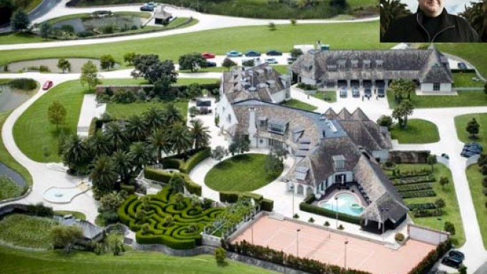 Kim Dotcom's $24 million Rental Mansion is the most expensive private home in New Zealand