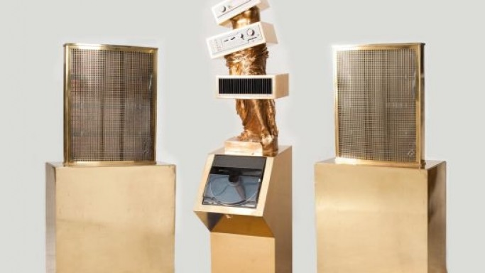 German artist Petrus Wandrey's stereo system 'Venus's Hifi' is a pure work of art