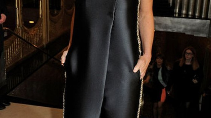 Stella Mccartney Strapless Jumpsuit With Embellished Detailing