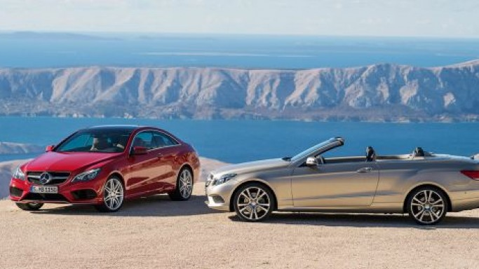 Dynamic Duo: The new Mercedes-Benz E-Class Coupé and Cabriolet will go on sale this March