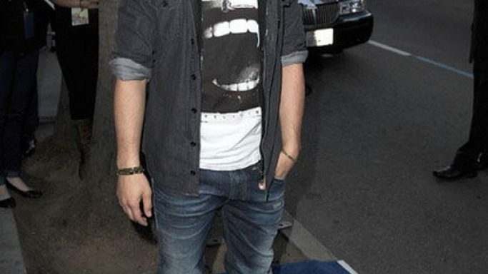Joe Jonas wears Android Homme Propulsion Hi