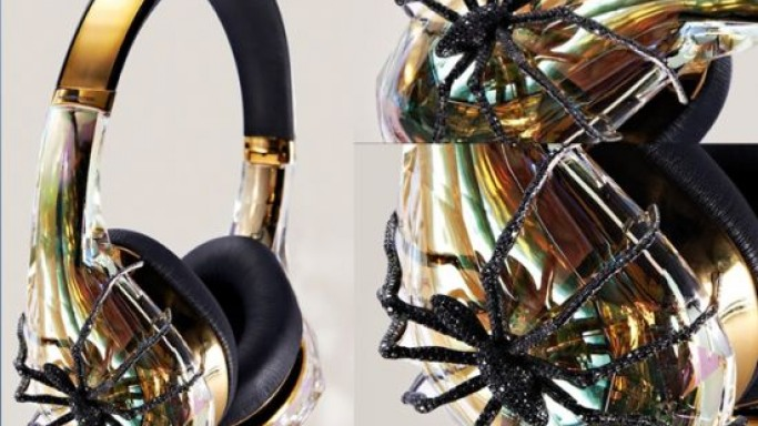 $30,000 Monster Diamond headphones are perfect for Lady GaGa