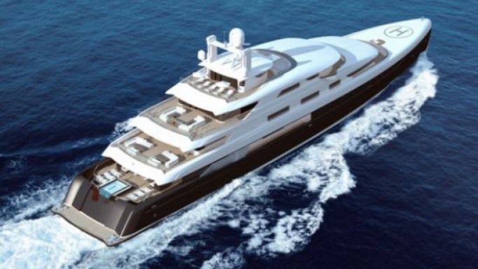 Fraser Yachts to sell China's biggest superyacht the 88m 'Illusion'