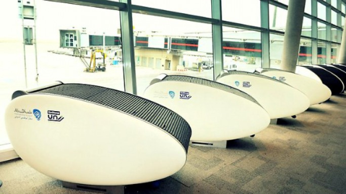 Abu Dhabi Airport installs world's first GoSleep sleeping pods for travelers
