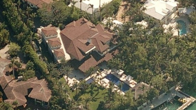 Sean Combs house in Star Island