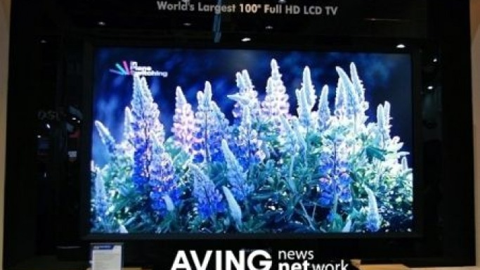 LG Displays World's largest 100-inch TFT-LCD at IMID