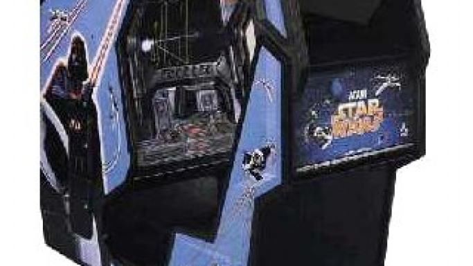 Star Wars Cockpit Original Arcade Machine For Sale