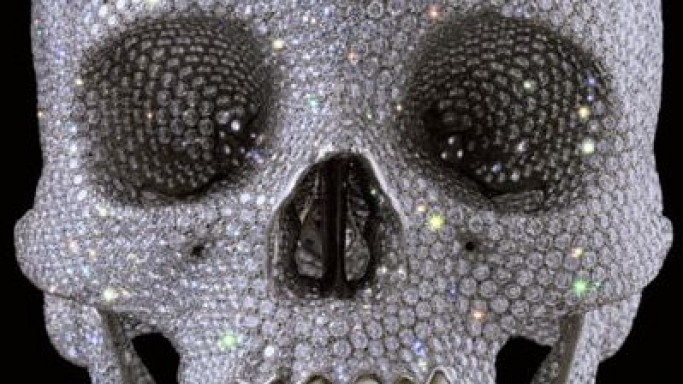 Damien Hirst unveils $98M diamond skull 'For the Love of God'