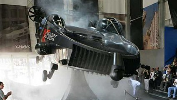 Urban Aeronautics readies 'X-HAWK' flying car for 2009