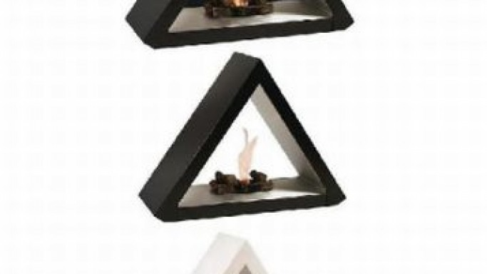 The Starline Fire Pyramid Collection: The Contemporary Bio-Fireplace