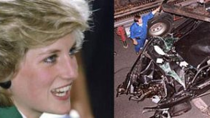 Wreckage of the Diana's 'crash Limousine' to sell for £1 million