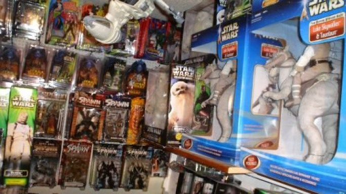 A Collection Of Star Wars And Other Toys For $34,500