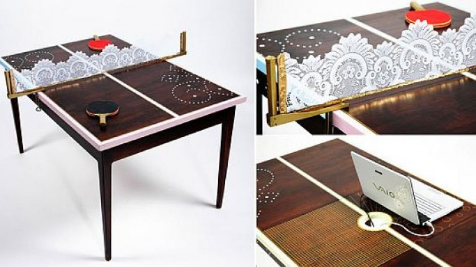 Paul Smith Ping Pong Table: Flea market flash of brilliance!