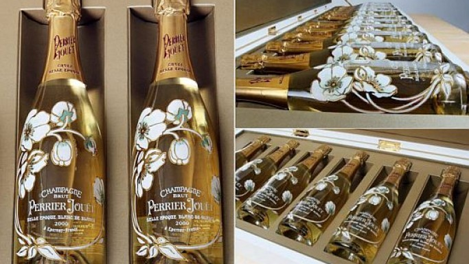 World's most expensive Perrier-Jouet champagne