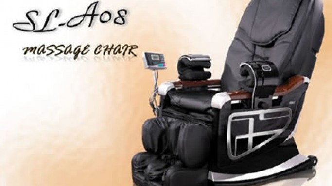 The SL-A08 Massage chair is waiting to work on you