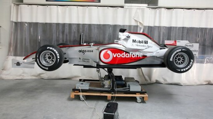 F1Showcar Motion Simulator: Live the race day as a winner