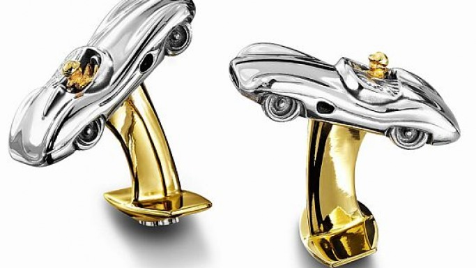 Add style and sophistication to your outfit with Aston Martin cufflinks