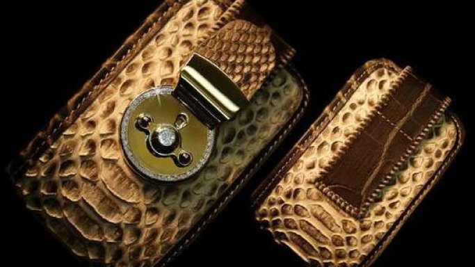 The world's most expensive diamond studded wallet for your iPhone