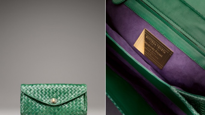 Bottega Veneta celebrates Russians glamorous style with the Clutch Moscow